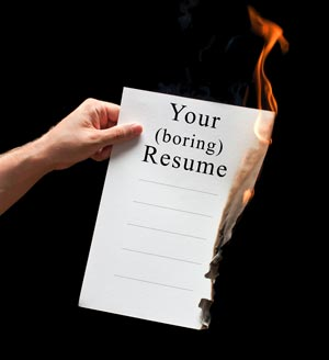 Burn Your resume and Build an Eportfolio