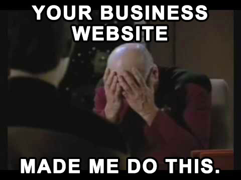 Captain Jean Luc Picard double face palm meme home building a website pro how to build a website, wordpress,How To Make A Meme Website